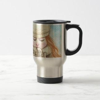 Winter Girl Travel Mug