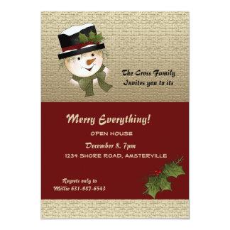 Winter Glee - Holiday Invitation