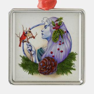 Winter Goddess Christmas Tree Ornament