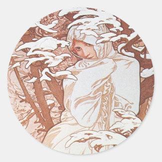Winter Goddess Stickers