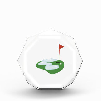 Winter Golf Acrylic Award
