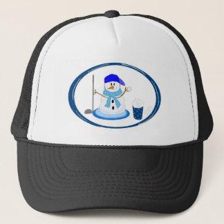 Winter Golf Design Trucker Hat