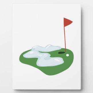 Winter Golf Plaques