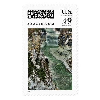 Winter Gorge Postage