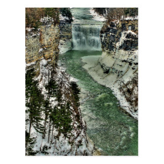 Winter Gorge Postcard