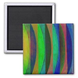 winter gradient 2 inch square magnet