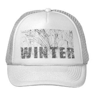 Winter Grass In Snow Trucker Hat