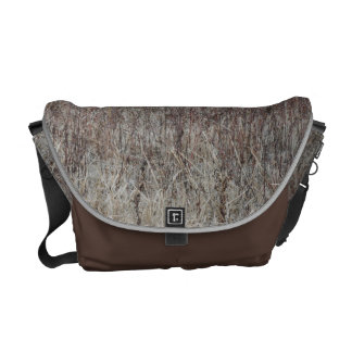 Winter Grass Scape Courier Bags
