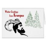 Winter Greetings from Krampus Card
