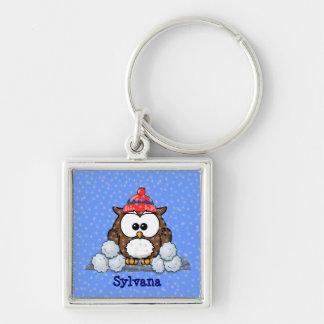 winter greetings keychain