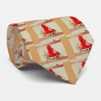 Winter Greetings Tie