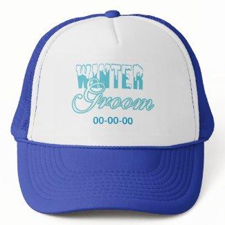 Winter Groom Wedding hat
