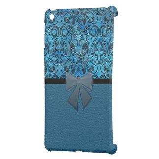 Winter grunge damask case for the iPad mini