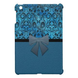Winter grunge damask iPad mini covers