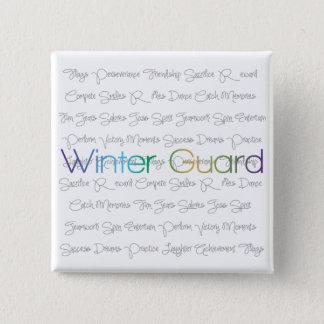 Winter Guard Buttons