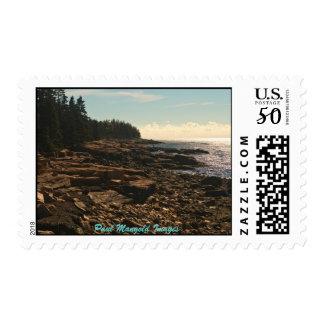 Winter Harbor Maine Postage
