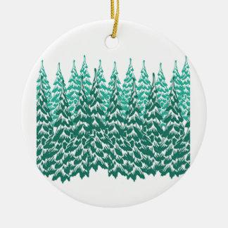 Winter Haven Ceramic Ornament