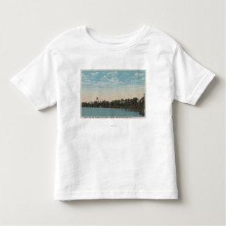 Winter Haven, Florida - Water View of Spring Toddler T-shirt