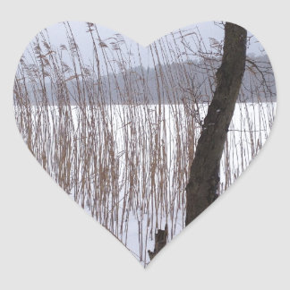 Winter Heart Sticker