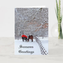 Winter Hearts Greeting Card
