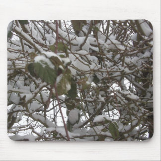 Winter Hedge Mousemat Mouse Pad