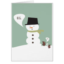 Winter Hello Card