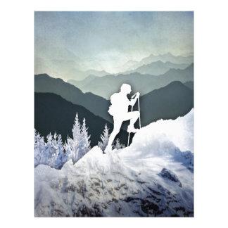 Winter Hike Letterhead