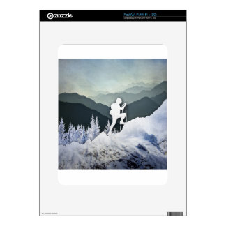 Winter Hike Skins For The iPad