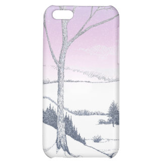 Winter Hillside Cover For iPhone 5C