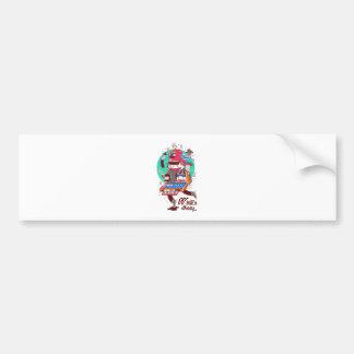 Winter Holiday Bumper Sticker