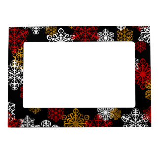 Winter Holiday Decoration Photo Picture Frame Picture Frame Magnets