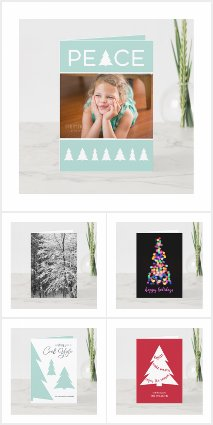 Winter Holiday Greeting Cards