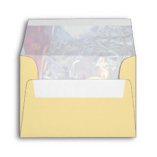 Winter Holiday Ornaments Envelope