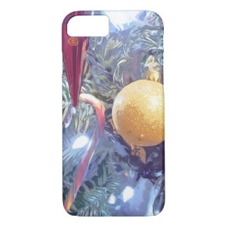 Winter Holiday Ornaments iPhone 7 Case