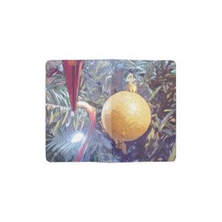 Winter Holiday Ornaments Pocket Moleskine Notebook