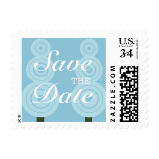 Winter Holiday Party Save the Date Stamp