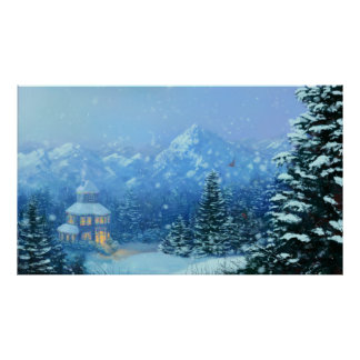 Winter Holiday Posters