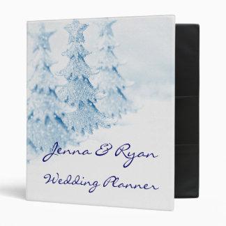 Winter Holiday Wedding Planner or Recipe Bridal Binder
