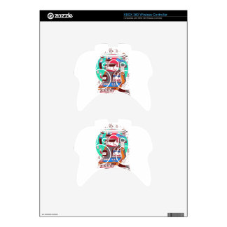Winter Holiday Xbox 360 Controller Skin