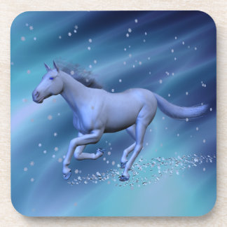 Winter Horse Coasters
