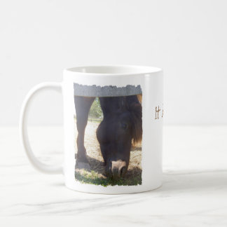 Winter Horse Coffee Mug