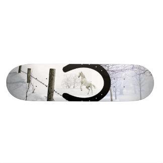 Winter Horse Skateboard Deck