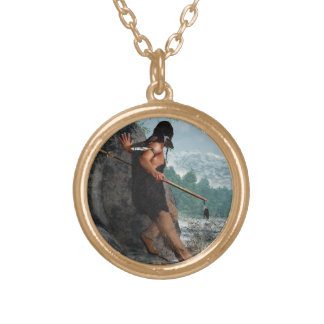 Winter Hunt Personalized Necklace