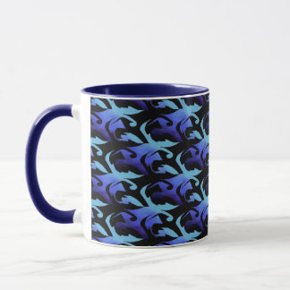 Winter Ice and Shadow Mug