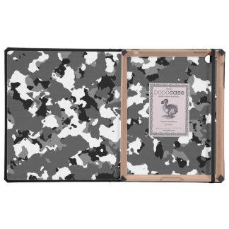 Winter Ice Camo iPad Folio Cases
