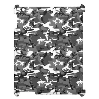 Winter Ice Camo Cover For The iPad