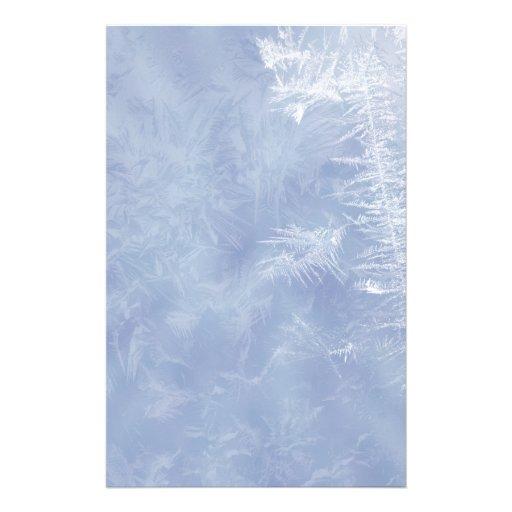 Winter / Ice Design Custom Stationery