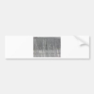 Winter Icicles Bumper Sticker