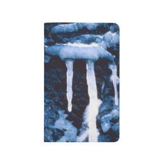 Winter Icicles Seasonal Icy Scenic Photo Journal