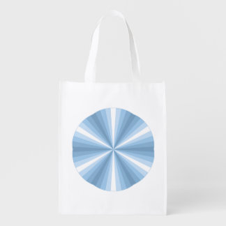 Winter Illusion Reusable Grocery Bag